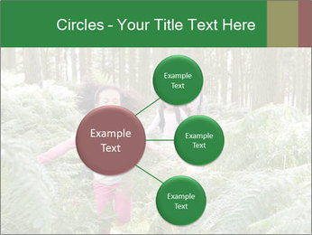 Group Hiking In Woods Together PowerPoint Templates - Slide 79