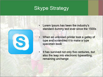 Group Hiking In Woods Together PowerPoint Templates - Slide 8