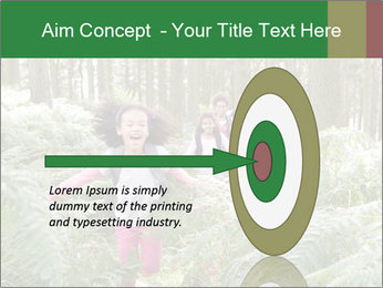 Group Hiking In Woods Together PowerPoint Templates - Slide 83