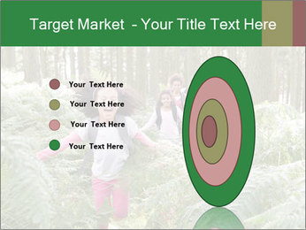 Group Hiking In Woods Together PowerPoint Templates - Slide 84