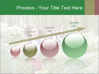 Group Hiking In Woods Together PowerPoint Templates - Slide 87