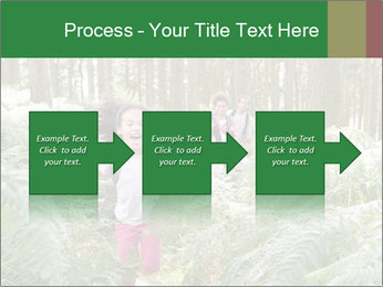 Group Hiking In Woods Together PowerPoint Templates - Slide 88