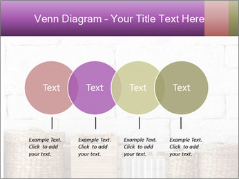 Decorative shelf on white brick wall PowerPoint Templates - Slide 32