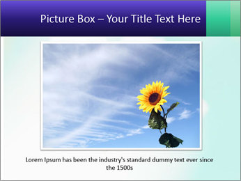 Bee on flower PowerPoint Template - Slide 15