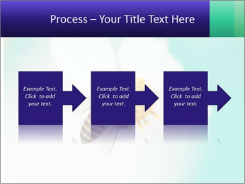 Bee on flower PowerPoint Template - Slide 88