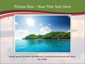 Sunrise at Cutler Bay near Miami PowerPoint Template - Slide 15