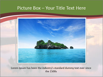Sunrise at Cutler Bay near Miami PowerPoint Template - Slide 16