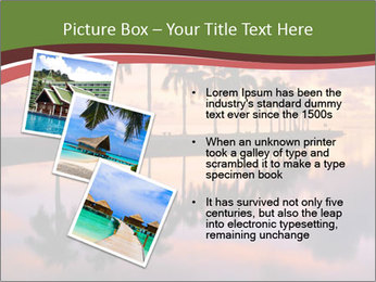 Sunrise at Cutler Bay near Miami PowerPoint Template - Slide 17