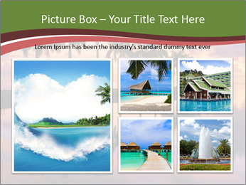 Sunrise at Cutler Bay near Miami PowerPoint Template - Slide 19