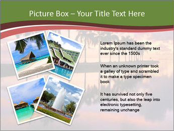 Sunrise at Cutler Bay near Miami PowerPoint Template - Slide 23
