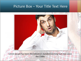 Man looking scared PowerPoint Templates - Slide 15