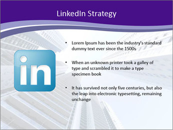 Tall building modern building PowerPoint Template - Slide 12
