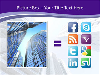 Tall building modern building PowerPoint Template - Slide 21