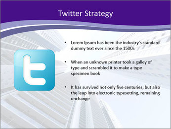 Tall building modern building PowerPoint Template - Slide 9