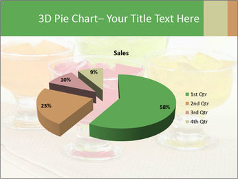 Tasty jelly cubes in bowls on table PowerPoint Template - Slide 35