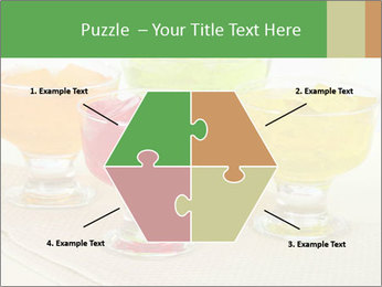 Tasty jelly cubes in bowls on table PowerPoint Templates - Slide 40