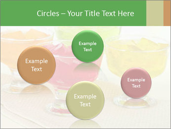 Tasty jelly cubes in bowls on table PowerPoint Template - Slide 77