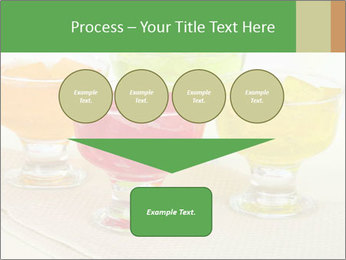 Tasty jelly cubes in bowls on table PowerPoint Template - Slide 93