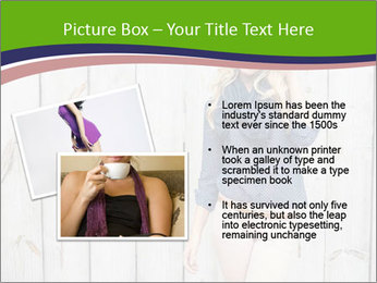 Beautiful young girl PowerPoint Template - Slide 20