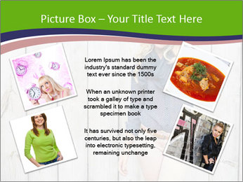 Beautiful young girl PowerPoint Template - Slide 24