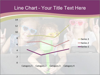 Two little girls and boy sitting in the car PowerPoint Templates - Slide 54