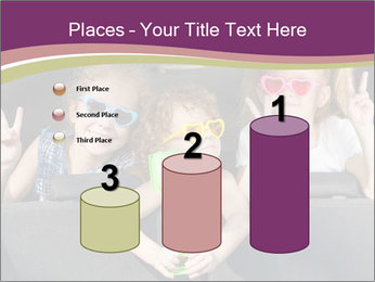 Two little girls and boy sitting in the car PowerPoint Templates - Slide 65
