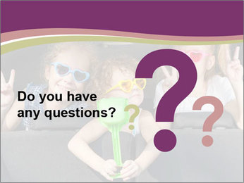 Two little girls and boy sitting in the car PowerPoint Templates - Slide 96