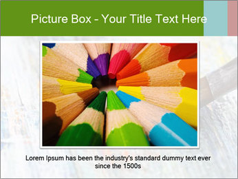 Closeup of brush PowerPoint Template - Slide 15