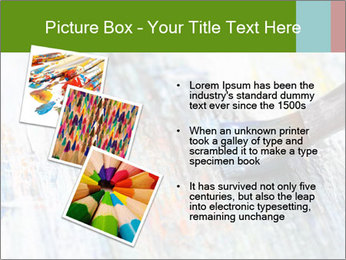 Closeup of brush PowerPoint Template - Slide 17