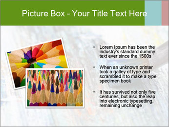 Closeup of brush PowerPoint Template - Slide 20