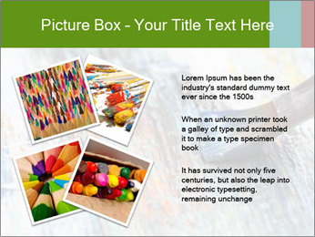Closeup of brush PowerPoint Template - Slide 23