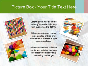 Closeup of brush PowerPoint Template - Slide 24