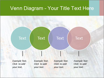 Closeup of brush PowerPoint Template - Slide 32