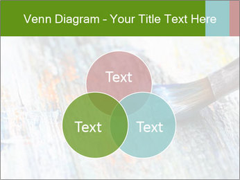 Closeup of brush PowerPoint Template - Slide 33