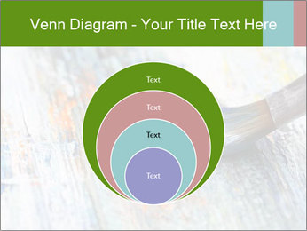 Closeup of brush PowerPoint Template - Slide 34