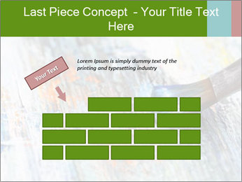 Closeup of brush PowerPoint Template - Slide 46