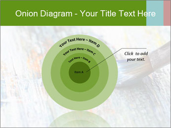 Closeup of brush PowerPoint Template - Slide 61