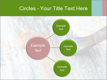 Closeup of brush PowerPoint Template - Slide 79