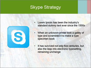 Closeup of brush PowerPoint Template - Slide 8