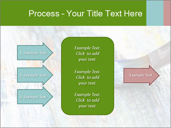 Closeup of brush PowerPoint Template - Slide 85
