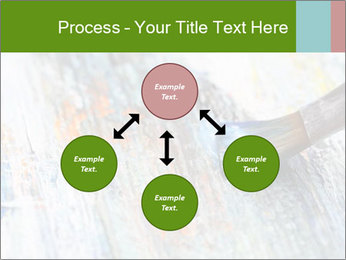 Closeup of brush PowerPoint Template - Slide 91