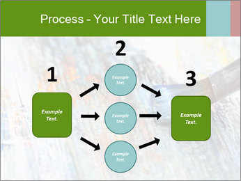 Closeup of brush PowerPoint Template - Slide 92