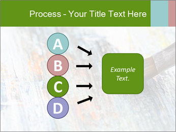 Closeup of brush PowerPoint Template - Slide 94