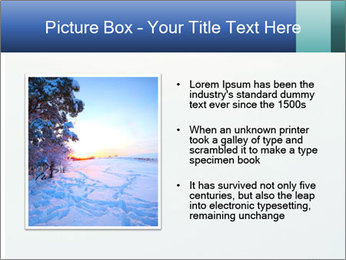 Winter minimalist landscape PowerPoint Template - Slide 13