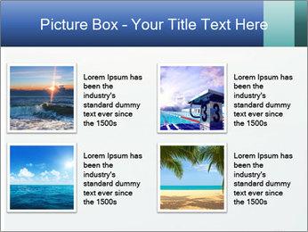 Winter minimalist landscape PowerPoint Template - Slide 14