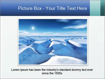 Winter minimalist landscape PowerPoint Template - Slide 15