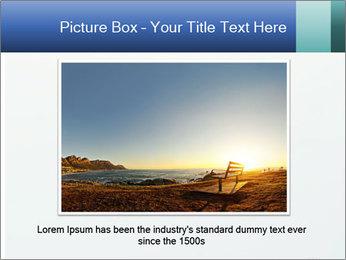 Winter minimalist landscape PowerPoint Template - Slide 16