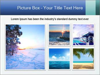 Winter minimalist landscape PowerPoint Template - Slide 19