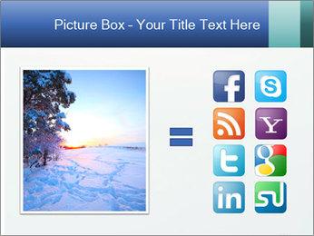 Winter minimalist landscape PowerPoint Template - Slide 21