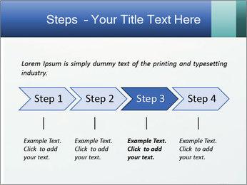 Winter minimalist landscape PowerPoint Template - Slide 4